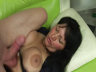 Her Old Cunt Is Very Wet