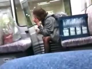 Congratulate, girl orgasms on train