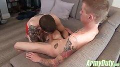 Allen Had A Good Tasting Of Ryans Enormous Cock