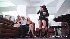 Private.com - Jolee Love Ella Hughes & Alessandra Do 4Some!