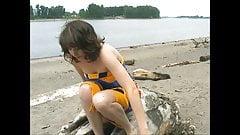 Irish Teen Idaho - On The Beach