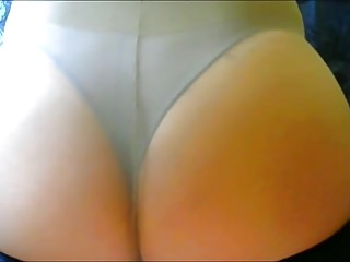 crossdresser pantyhose ass 060