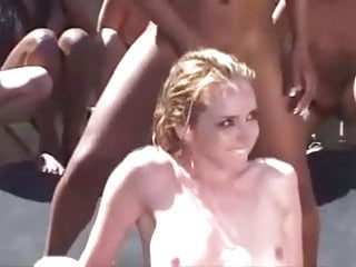 Insane Lesbian Squirt Party