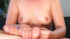 Femdom Ballplay & Cumplay Cock Massage
