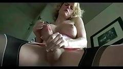 sexy jerk and cum