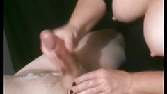 Mature Aunt Polly Did Wonderful Massage On Her Young Lover