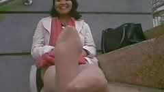 sexy pantyhose feet