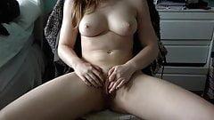 Beautiful girl masturbating  on webcam - nicolo33