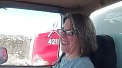 Flashing the trucker