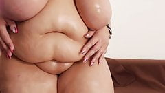 BBW big fat tits lotion