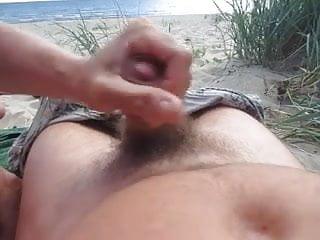 Blowjob On Public Beach