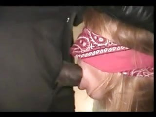 Blindfolded Slut WIfe Owned by BBC
