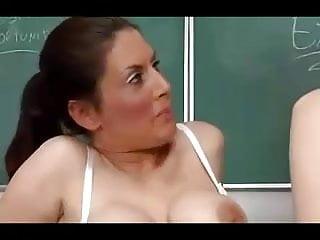 Foxy mature teacher gets load