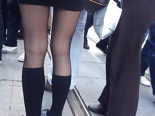 turkish school girl in pantyhose
