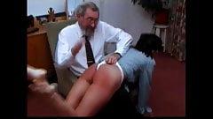 white shorts like panties spanking wedgie