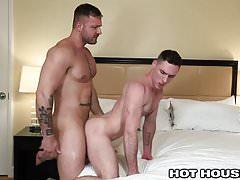 HotHouse Hung Daddy Austin Wolf Fucks Cut Hottie In Hotel Ro