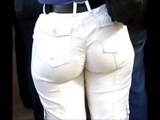 white cargos