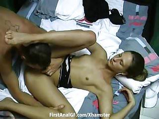Russian hard anal fuck