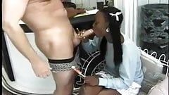 STP Cute Black Student Gets Anal From Her Teacher !