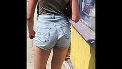 Sexy Waif Waist-Hi Jean Shorts