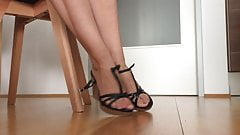 Sexy wedges shoeplay from friend