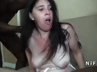 Naughty french mature hard analized by black guys