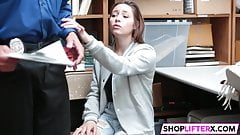 Shoplifting Teen Moves To The Backroom
