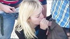 il amene sa femme sucer des bites