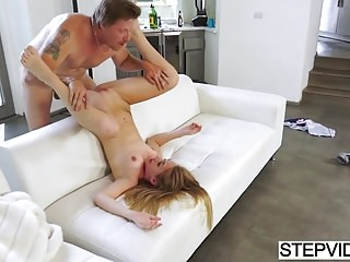 Iggy Amore Gets Punished By Stepdad