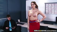 Brazzers - Big Tits at Work - ZZIncs Corporate Orifice scene