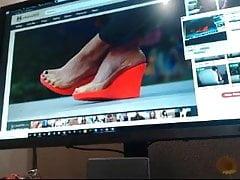 Cum for Captivation wonderful feets 1