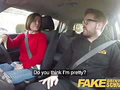 Fake Driving School Jealous learner wants hard fucking's Thumb
