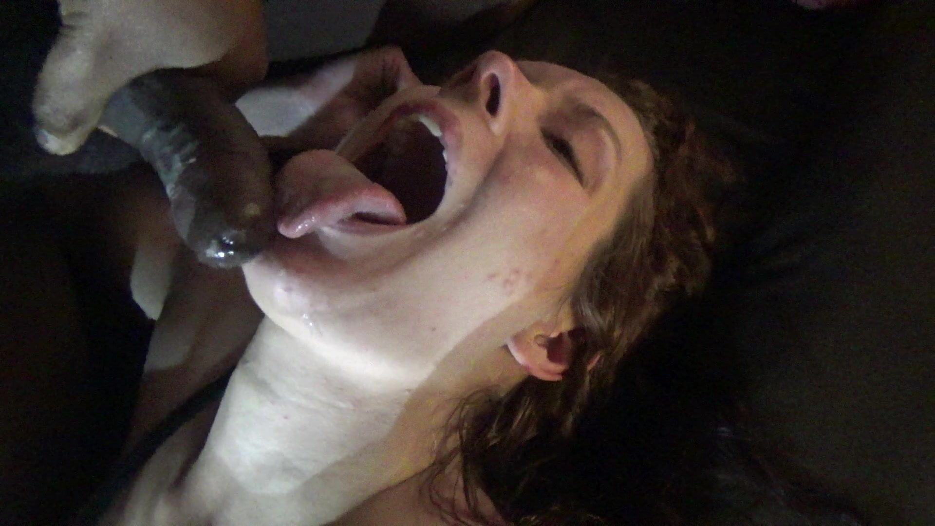 Wife swallows black loads compilation #10