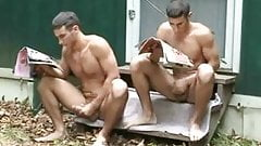 Jerking twins part 1