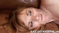 You can watch while I ride a big black monster cock