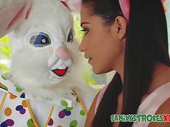 Easter Bunny Fucks Horny Teen