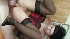 Russian mom anal sex