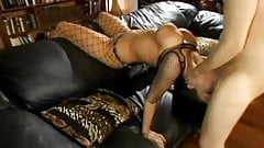 Big titted whore gets throatfucked DTD