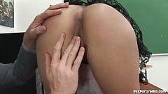 Hot Teen Seduces Her Teacher