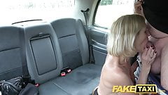 Fake Taxi Mature Milf gets her big pussy lips stretched open's Thumb