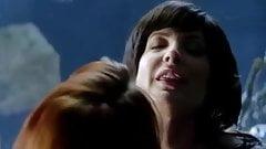 Lesbian scene from Femme Fatale s02e02