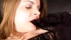 Panty Discharge Sniffing And Licking Compilation