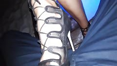 Public crush high heels