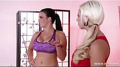 Brazzers - Hot & mean yoga instructor seduces her student