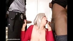 Big Booty White Slut Klaudia Kelly DP'ed By Big Black Cocks