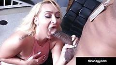 Curvy Nympho Nina Kayy Rides Big Black Cock With Boober App!
