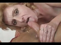 Saggy Tit MILF Fucks Younger Dude!