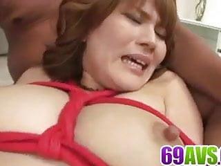 Chris Erika big tits Japanese endures more than one cock