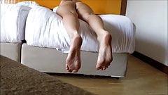 Big soles and juicy ass (hidden cam)