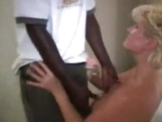 Granny seduces an ebony boy